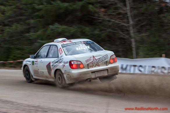 Action from the Rally of the Tall Pines 2012