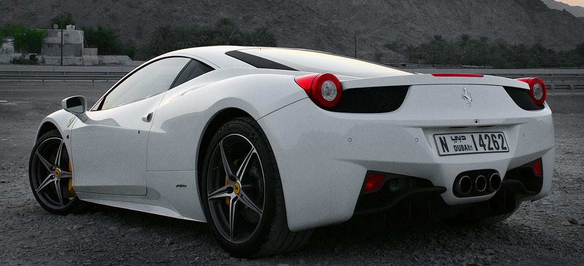 Ferrari 458 Italia Redlinenorth