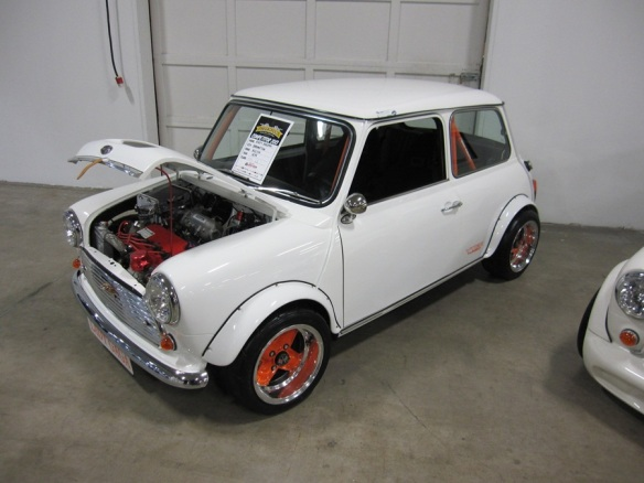 Mini Cooper with Honda VTEC engine