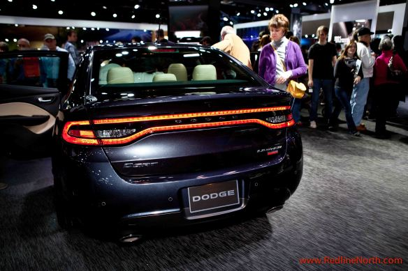 Dodge Dart debut at NAIAS 2013
