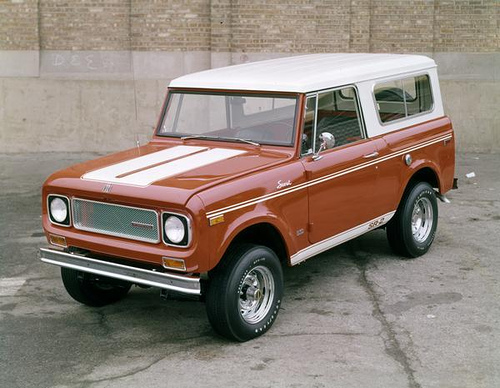 International Harvester Scout Redlinenorth