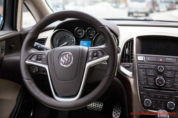 Leather wrapped heated steering wheel adds a touch of luxury