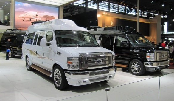 Ford Econoline Conversion Vans