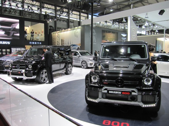 Mercedes-Benz G Wagons