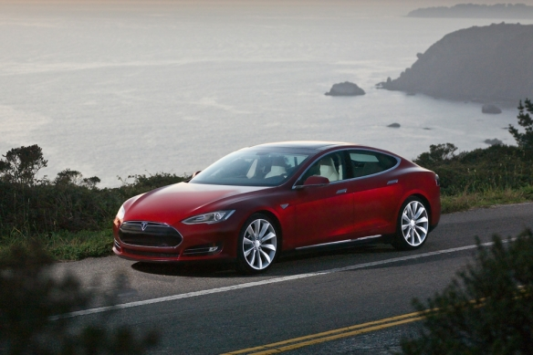 Tesla Model S exceeded first quarter sales estimates