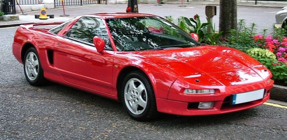Honda_NSX_red