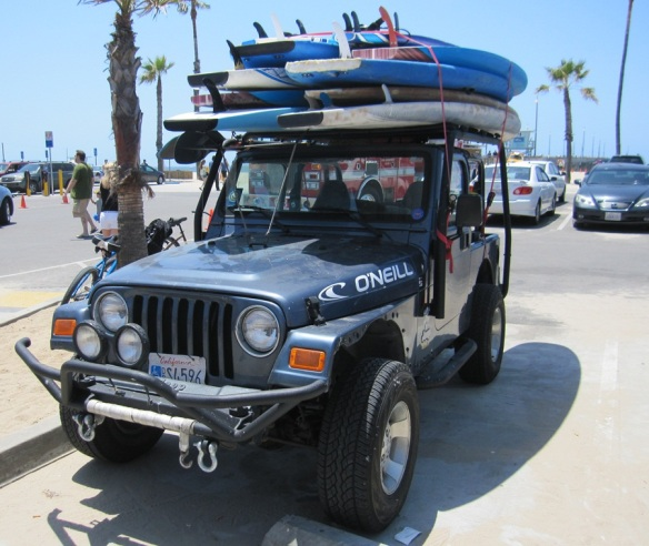 Surfer Jeep