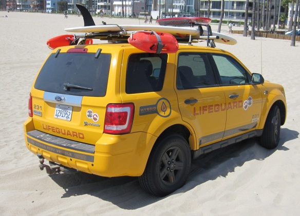 Santa Monica Lifeguard - Ford Escape