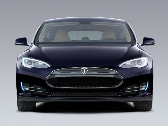 Tesla Model S is outselling its competition