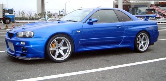 2002 Nissan Skyline R34 GT-R