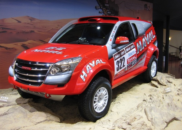 Paris to Dakar rally truck