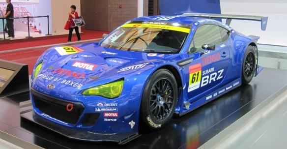 Subaru BRZ race model
