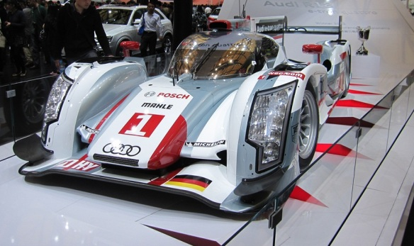 Germany's proudest son the 2012 24 Hours of Le Mans - Audi R18 e-tron quattro