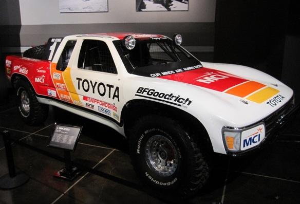 "Ivan ""Ironman"" Stewart's Toyota Baja truck"