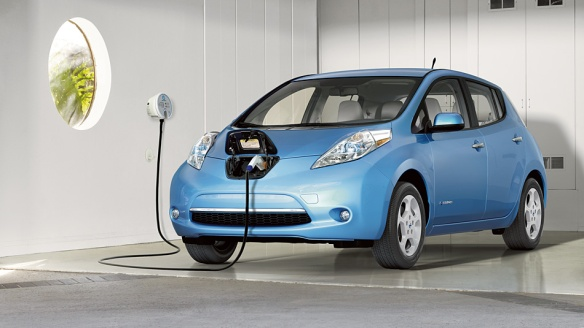 2013 Nissan Leaf (Source: Nissan USA)