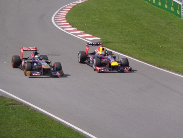 Team Red Bull - Sebastian Vettel and Mark Webber