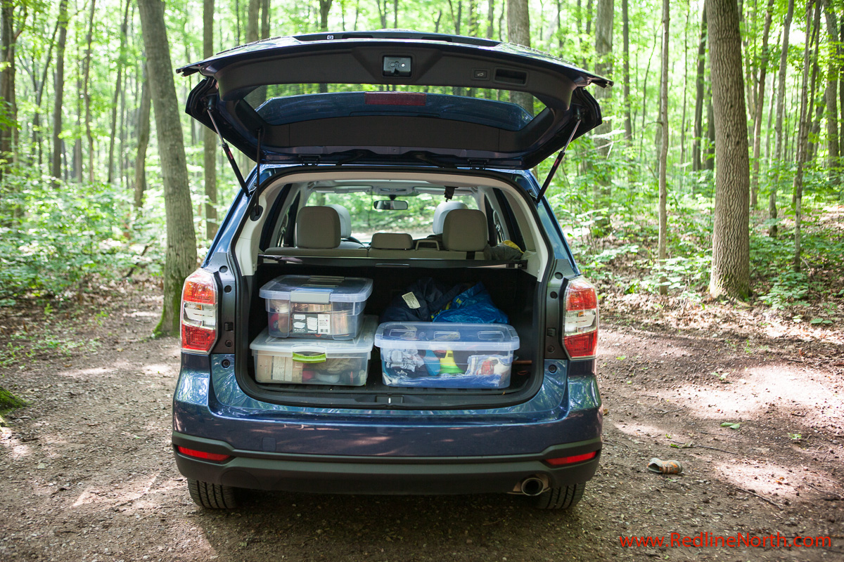 Subaru Forester Cargo Space >> 2014 Subaru Forester Review Redlinenorth