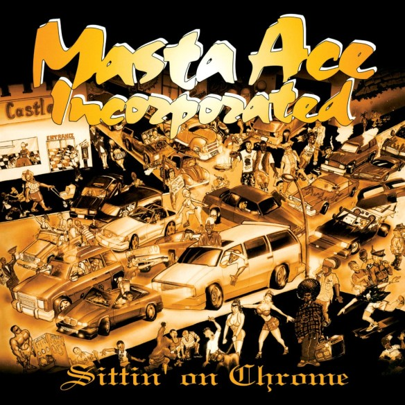 Masta Ace - Sitting on Chrome Album cover