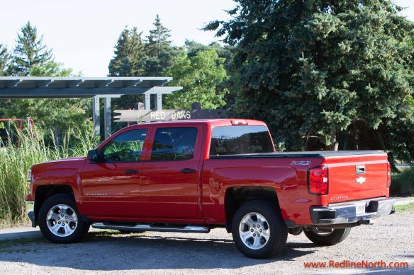 The crew cab with extended box brings the Silverado just a sliver below 20 feet long