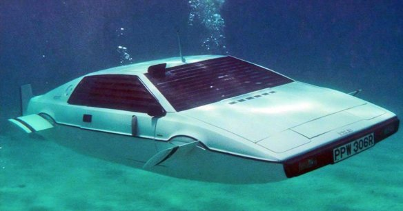 Lotus Espirit Submarine car