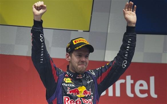 Sebastian Vettel Image source: telegraph.co.uk