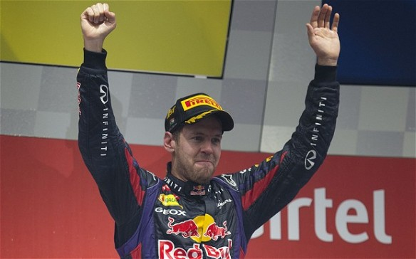 Sebastian Vettel Image source: telegraph.co.uk