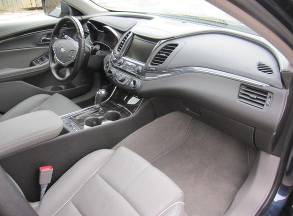 Front Seat Interior