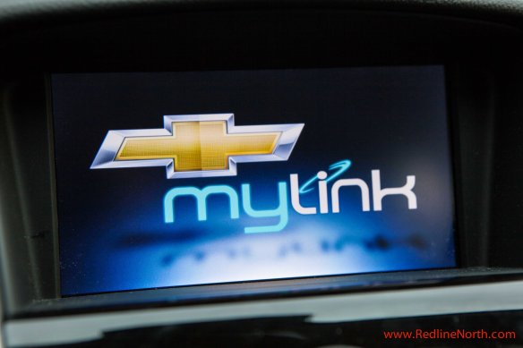 Technology options in the Cruze are plentiful including the MyLink infotainment system