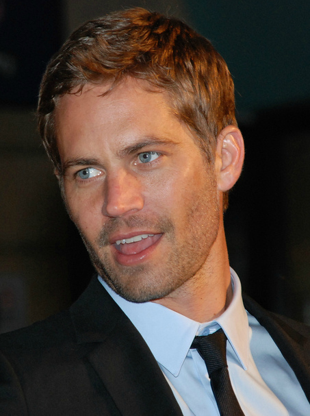 Paul Walker, 40, died yesterday in a car crash outside L.A.