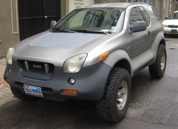 Isuzu 4x4 coupe