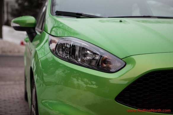 The ST version of the Fiesta enjoys a more aggressive look compared to its base model