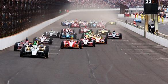 Indy 500 start