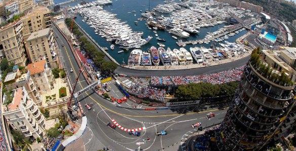 Monaco Grand Prix view