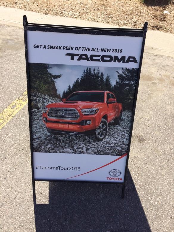 Toyota Tacoma event